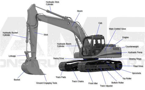 ams construction parts link belt excavator replacement parts