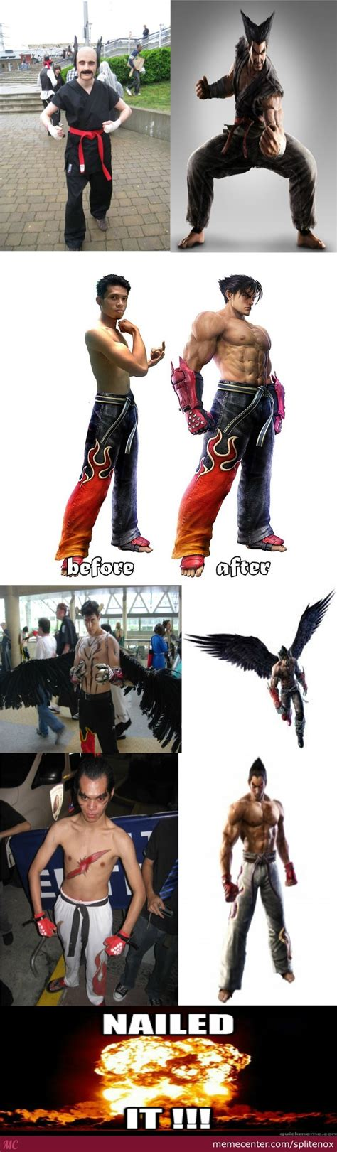 Tekken Memes - best tekken cosplay by splitenox meme center