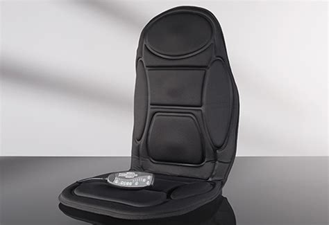 Car Cushion with Massage and Heat @ Sharper Image