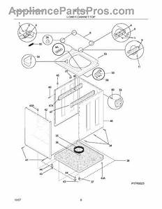 Parts For Frigidaire Mex731cfs1  Lower Cabinet    Top Parts