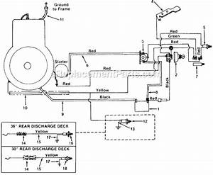 Mtd 135-504-000 Parts List And Diagram