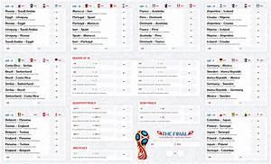 Freebie Fifa World Cup Russia 2018 Wall Chart On Behance