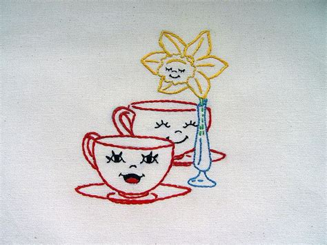 kitchen towel machine embroidery designs table setting embroidered tea towel with 8670
