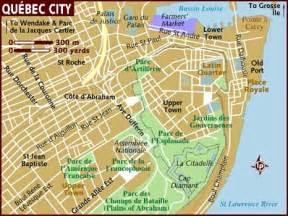 Old Quebec City Map