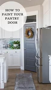 Pantry Door Makeover - HoneyBear Lane