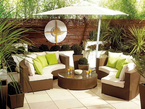 Outdoor Furniture : Cozy Unique Backyard Furniture Ideas
