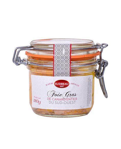 cuisiner un canard entier foie gras de canard entier 180 g sudreau edélices