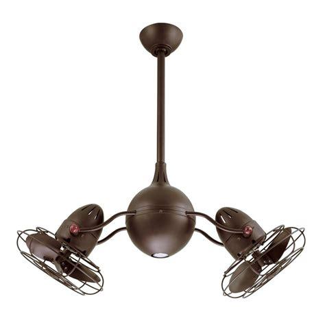 shop matthews acqua 16 in textured bronze downrod mount