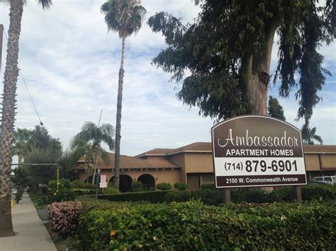 ambassador inn apartments fullerton ca apartment finder