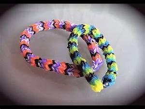 Bracelet Avec Elastique : bracelet en lastiques rond facile avec machine youtube ~ Melissatoandfro.com Idées de Décoration