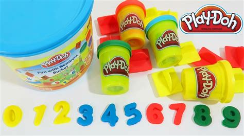 play doh with numbers playset learn simple