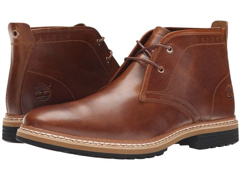 timberland west chukka in brown for lyst