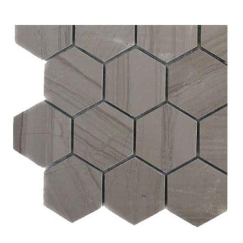 home depot hexagon marble tile splashback tile athens grey hexagon polished marble floor