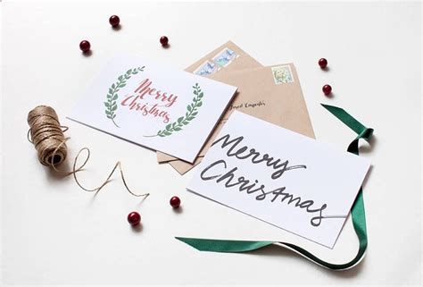 Merry Christmas from Paperlust Event invitation design