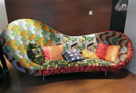 canapé style africain décoration en wax waxindeco linge de maison en wax