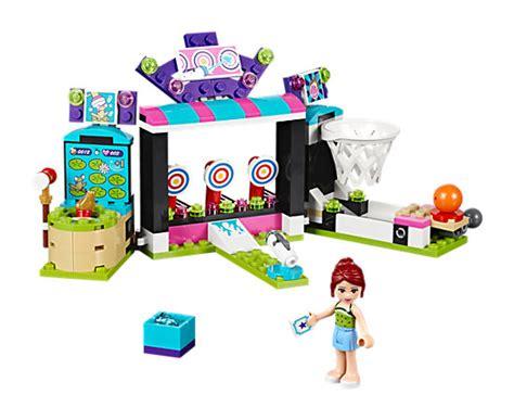 tapis de jeu playmobil amusement park arcade 41127 friends lego shop