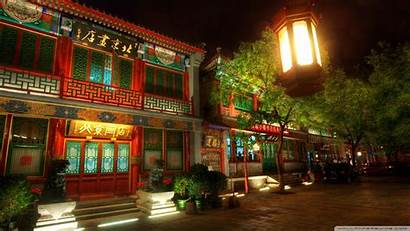 Chinese Houses Wallpapers 4k Background Desktop Standard