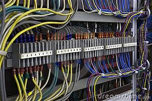 Vintage Electrical Wiring Royalty Free Stock Photo