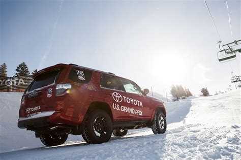 Toyota Of Winter by Toyota Partners With Us Ski Snowboard Teams Ahead Of