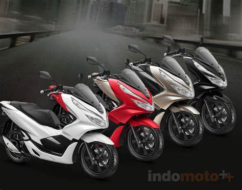 Pcx 2018 Warna Hitam by Ahm Umumkan Harga Resmi Honda Pcx Tersedia 4 Pilihan Warna