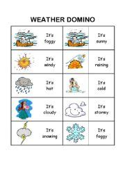 English Worksheets The Weather Worksheets, Page 27