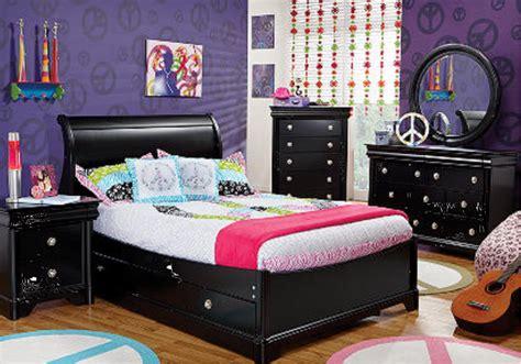 black bedroom furniture sets girls hawk haven