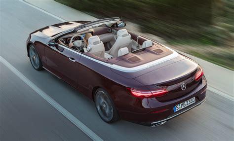 New Mercedes-Benz E-Class Cabriolet unveiled – fabric soft ...