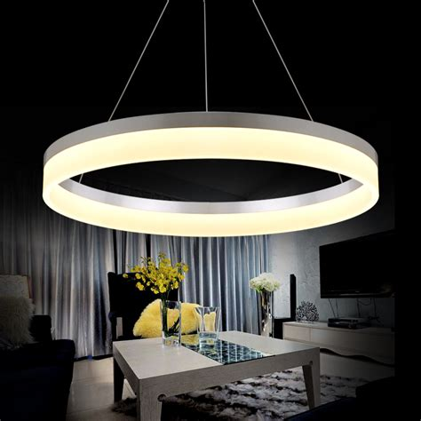 led light design contemporary magnificent modern led ring chandelier light arcylic led chandelier