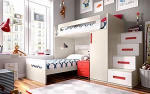 Lit ado mezzanine ludo secret de chambre for Tapis chambre ado avec matelas heveane dunlopillo avis