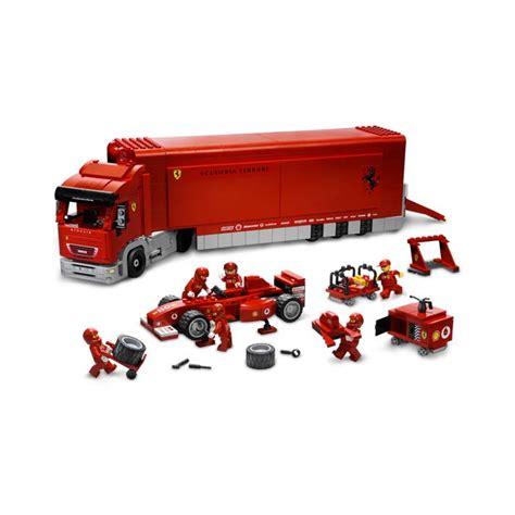 ferrari truck scuderia ferrari truck set 8654 brick owl