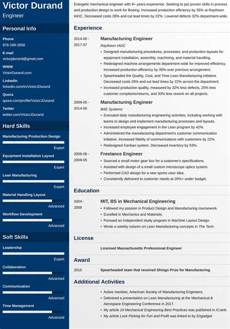 Resume Template Exles Free by Top 10 Free Resume Templates For Web Designers