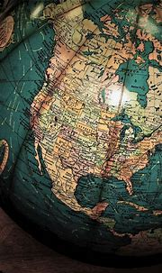 Download 1080x1920 Globe, World Map, Antique Wallpapers ...