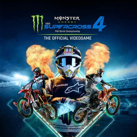 Monster Energy Supercross -- The Official Videogame 4 - IGN