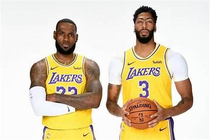 Lebron Lakers Davis Anthony James Nba Angeles