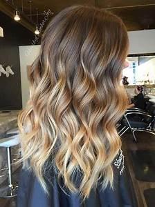 Ombré Hair Marron Caramel : 2017 balayage hair colors with blonde highlights best ~ Farleysfitness.com Idées de Décoration
