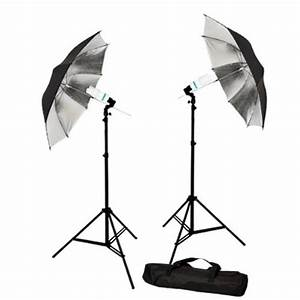 Photo Studio Reflective Umbrella Continuous Lighting Kits