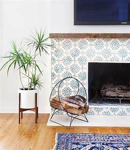 Creative tile ideas for modern interiors for Stylish options for fireplace tile ideas