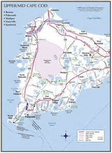 Upper Cape Cod Map
