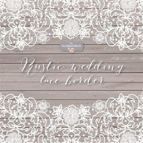 vector lace wedding border clipart illustrations