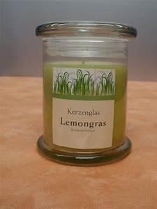 Kerze In Glas : kerze im glas deckel lemongras g nstig bei dekodor ~ Markanthonyermac.com Haus und Dekorationen