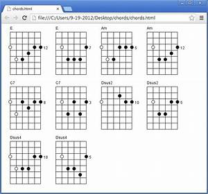 Guitar Chord Diagram Maker For Windows Program Software