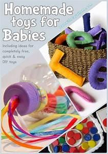 Spielzeug Für Baby 8 Monate : 8 homemade toys for babies selbstgemachtes spielzeug ~ Watch28wear.com Haus und Dekorationen
