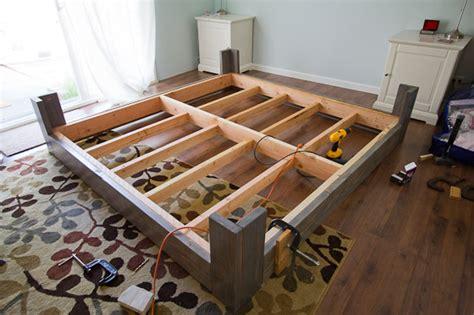 diy king bed frame diy bed frame Diy King Bed Frame