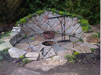 outdoor fire pit design Backyard fire pits ideas - large and beautiful photos. Photo to select Backyard fire pits ideas ...