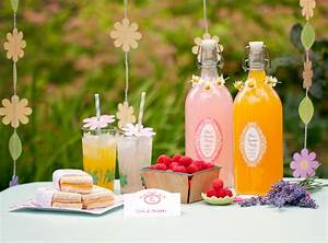 Garden Party Printables - Gift & Favor Ideas from Evermine