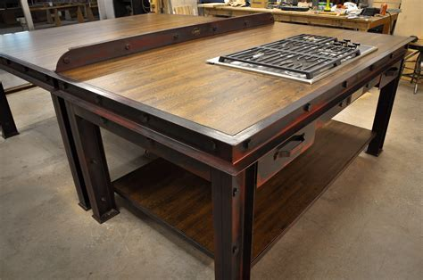 Firehouse Kitchen Island ? Model #FH4 ? Vintage Industrial