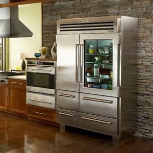 Sub-Zero Refrigerator Door with Glass