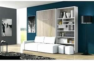 Lit Double Escamotable Ikea : etourdissant lit mural lit mural ikea prix ~ Melissatoandfro.com Idées de Décoration