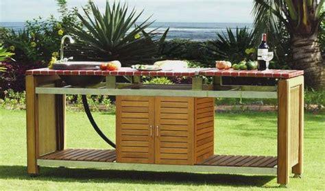 comment faire une cuisine ext ieure cuisines d 39 extérieur et barbecues design et haut de gamme