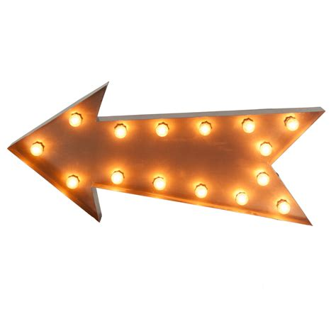 sign lighted arrow celebrations party rentals